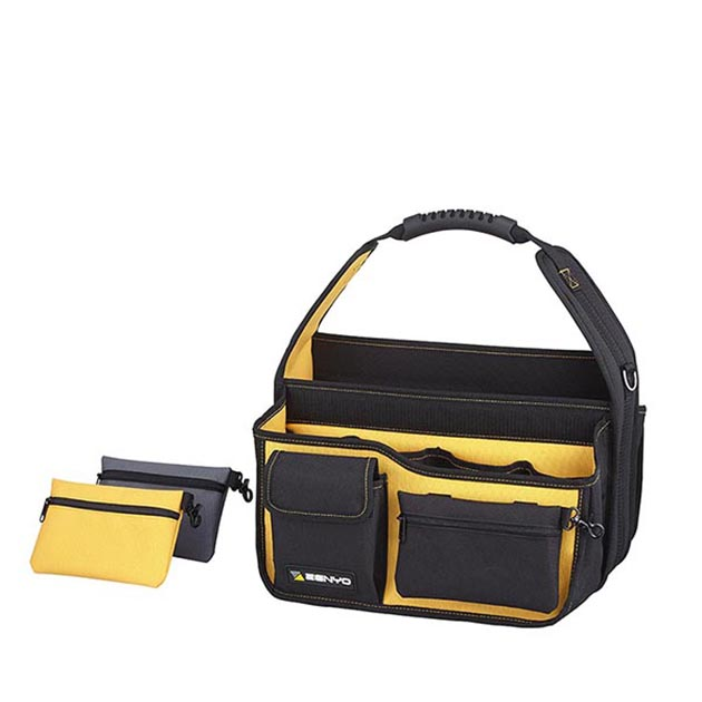 TOOL OPEN TOP BAG WITH REMOVABLE SIDE BAGS 2